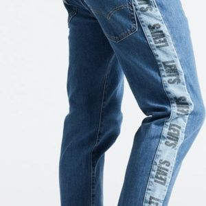 Hi-Ball Roll Logo Stripe Men's Jeans